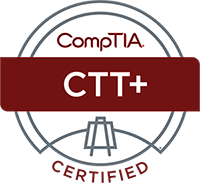 CompTIA CTT+ Certified