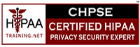 Certified HIPAA Privacy and Security Expert