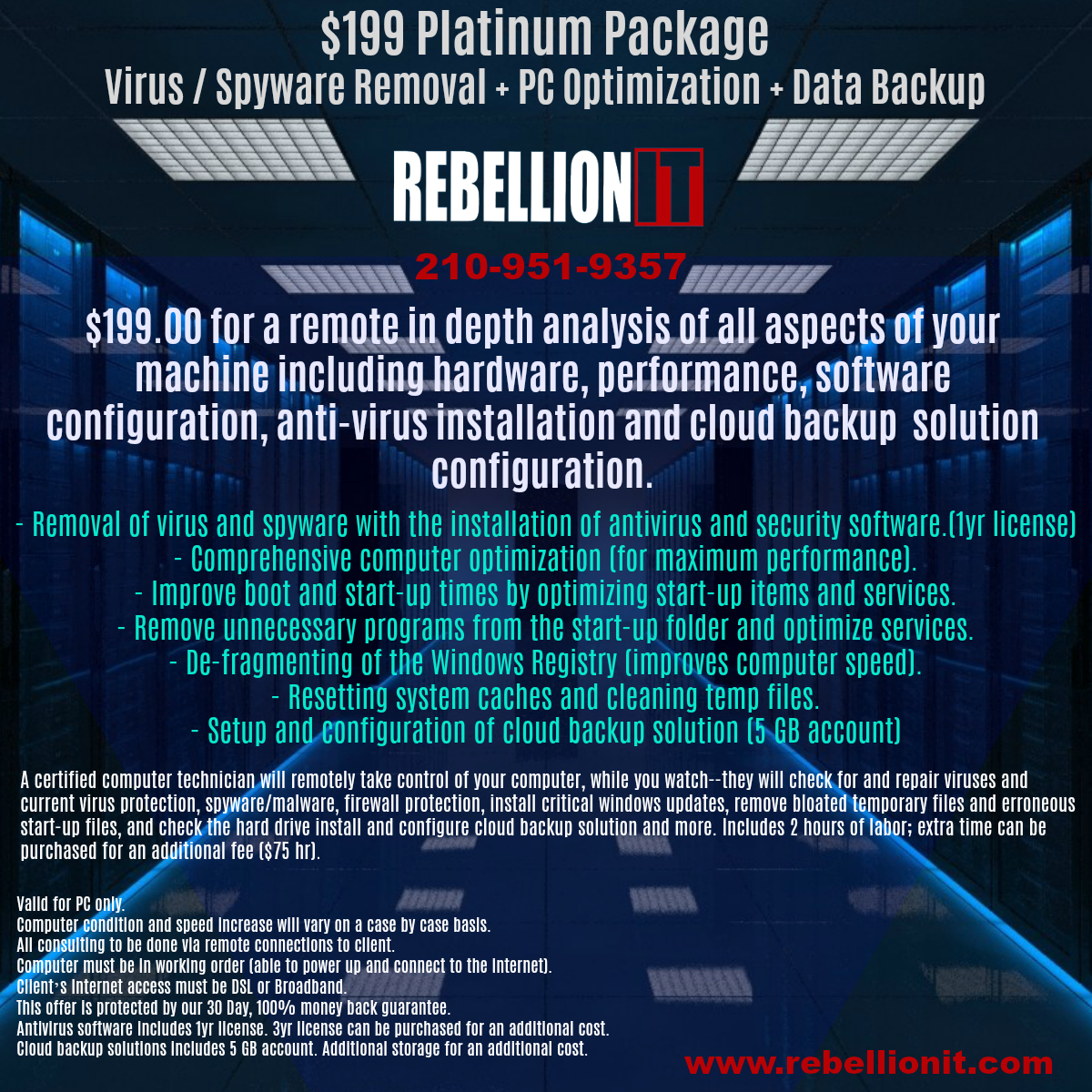 $199 Platinum Package